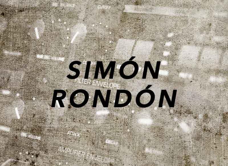 """""""portada canción Simón Rondón"""""""