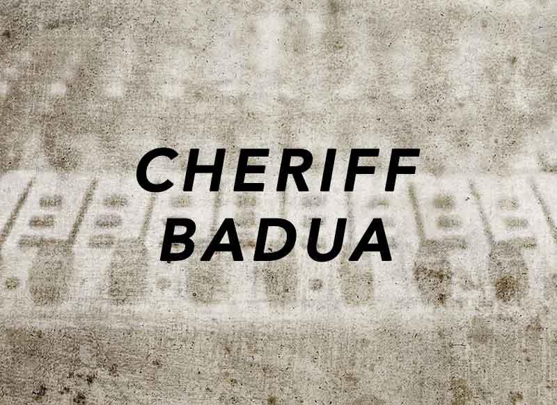 """""""portada canción Cheriff Badua"""""""